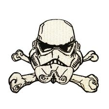 Disney Star Wars Stormtrooper Crossbones Patch Officially Licensed Iron On