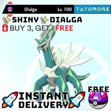 ✨ Shiny Dialga✨ Legendary Pokemon Sword and Shield 6 IV 🚀Fast Delivery🚀
