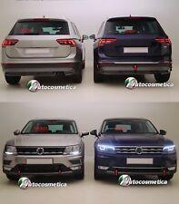 Modanature Profili Paraurto Poster+anter Acciaio Cromato Volkswagen TIGUAN 16>