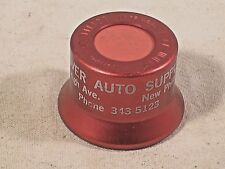 "Vintage Fizz Whiz Bottle Cap "" DOVER AUTO SUPPLY "" ,Faded Lettering."