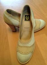 Canvas Patternless Standard Width (B) Casual Heels for Women