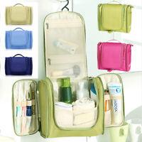 Travel Hanging Toiletry Organizer Bag Cosmetic Makeup Bag (FREE TOOTHBRUSH KIT)