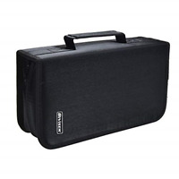 Bivisen CD/DVD Case Holder, 128 Capacity CD VCD Media Wallet, Storage, Holder,