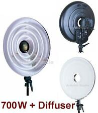 700W Continuous Macro Ring Light Lamp Lite with white Diffser 5400K day lighting