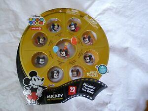 Tsum Tsum Mickey The True Original - 90th Anniversary 10 Piece Rare collection