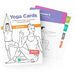 WorkoutLabs Yoga Cards – Beginner: Premium Study, Sequencing & Practice Guide