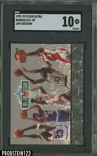 1992-93 Fleer Ultra Jam Session Ranked #11-20 Michael Jordan HOF SGC 10