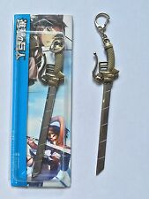 Attack on Titan metal blade keychain Long Sword Gun Copper Pendant ship from US.