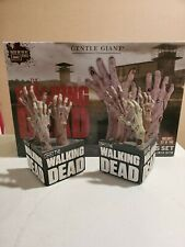 The Walking Dead Bookends By Gentle Giant RARE