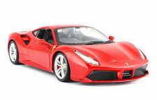Bburago 1:24 Ferrari 488 GTB Diecast Model Sports Racing Car Vehicle Toy IN BOX