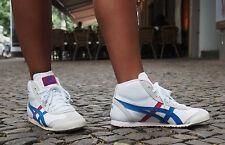 ASICS Damen-Turnschuhe aus Echtleder mit Schnürsenkeln