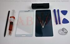 Samsung Galaxy Note 4 N910 White Replacement Front Screen Glass Lens+Tools kit