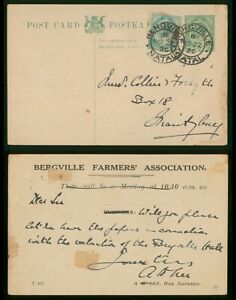 Mayfairstamps South Africa 1920 Bergville Natal Uprated Farmer's Association Sta