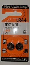 2+2 Maxell LR44 Alkaline Button Battery A76 L1154 AG13 357 SR44 303 1.5V EXP2016