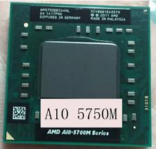 AMD A10-Series A10-5750M (AM5750DEC44HL) CPU Processor 8 MB 2.5 GHz 100% Working