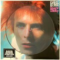 David Bowie - Space Oddity [Picture Disc + Poster] LP Vinyl Record Album
