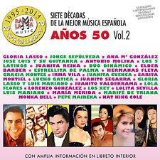 7 DECADAS DE LA MEJOR MUSICA ESPAÑOLA-VOL.3  AÑOS 60-2CD