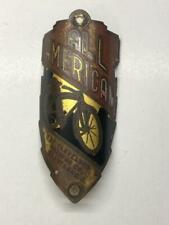 vintage CWC Roadmaster ALL AMERICAN bicycle Head Badge original