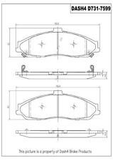 Disc Brake Pad Set-Base Front Dash 4 Brake CD731
