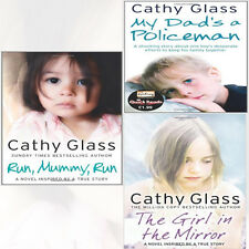 Cathy Glass Collection 3 Books Set(The Girl in the Mirror,Run, Mummy, Run,My Dad