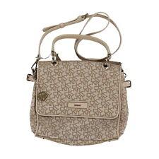 9f2560a3d125 Dkny Womens Purse Shoulder Bag Handbag Jacquard Flap Close Pockets Travel  New