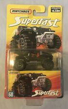 Superfast Matchbox - Black Jeep Hurricane Concept - NEW Limited Edition