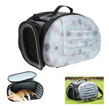 Pet Small Dog Cat Portable Sided Carrier Travel Tote Shoulder Bag Cage Kennel