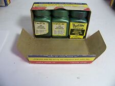 1960 CHRYSLER CORP DUPLI-COLOR TOUCH-UP IVY GREEN  NOS ORIG 3 BOTTLE BOX