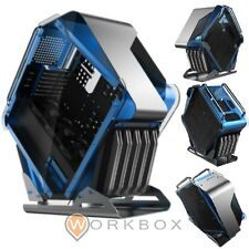 CASE GAMING PROFESSIONALE ATX CORTEK GALAXY EATX2.0 USB 3.0 HD AUDIO BLU ACCIAIO