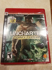 NEW Uncharted: Drake's Fortune (Sony PlayStation 3, 2007) PS3 Factory Sealed