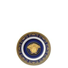 "VERSACE BY ROSENTHAL,GERMANY  ""MEDUSA BLUE"" BREAD & BUTTER PLATE, 7"""