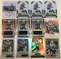 2019 Panini N'Keal Harry (12) Card Rookie Lot - Auto, Jersey Patch, Prizm Base