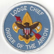 OA Order of the Arrow Lodge Chief patch REAL issued in 1993 BSA National Supply