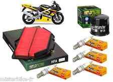 Pack Révision Entretien Filtre à Huile/Air Bougies SUZUKI GSX-R 600 2001/2003