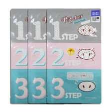Holika Holika Pig Nose Clear Black Head 3-Step Kit 7g * 3PCS
