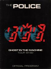 The Police 1981 / 1982 Ghost In The Machine Tour Program Book / Sting / Ex 2 Nmt
