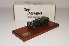 D TOP MARQUES B1 BENTLEY 4.5 LITRE VANDEN PLAS 1929 GREEN MINT BOXED RARE 73/300