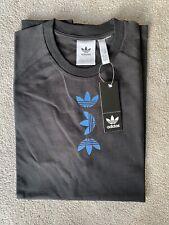 New Mens Adidas Originals T Shirt Medium Top Sportswear BNWT Black