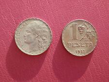 1 PESETA 1937 REPUBLICA ESPAÑOLA