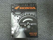 2004 & 2005 Honda NRX1800 Valkyrie Rune Motorcycle Shop Service Repair Manual