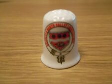 """COLLECTABLE """" KEIGHLEY & WORTH VALLEY LIGHT RAILWAY """" BONE CHINA THIMBLE"""