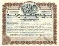 1923 Tamarack & Custer Mining Stock Certificate, 75170 shares