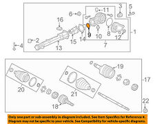GM OEM Differential-Rear Suspension-Housing Assembly Front Seal 15839521