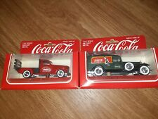 1979 Hartoy Die Cast Coca-Cola Delivery Vehicles - 1/43 Scale Toy - NEW