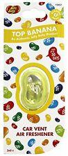 Jelly Belly Bean Top Banana Car Vent Clips Air Freshener Fragrance Gift Scent NE