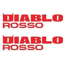 2 x PIRELLI DIABLO ROSSO Corsa Decals/stickers. Pirelli MotoGP. Die-cut vinyl