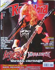 ROCK HARD 4 2011 Slayer Megadeth Loaded Joe Bonamassa Avantasia Sepultura Samael