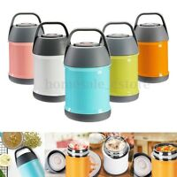 450ml Stainless Steel Insulated Lunch Box Container Soup Mug Food Handy Bottle