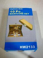 Calvin Hill 10Pc Manicure Set Hw2133 Nib Never Opened