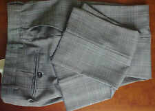 Pantaloni TONELLO,GRIGIO PRINCE DE GALLES,100%MADE IN ITALY*Tg. 50,fits M-L Int